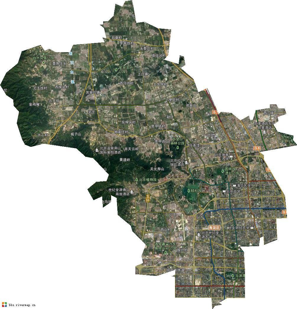 卫星地图高清能看见人